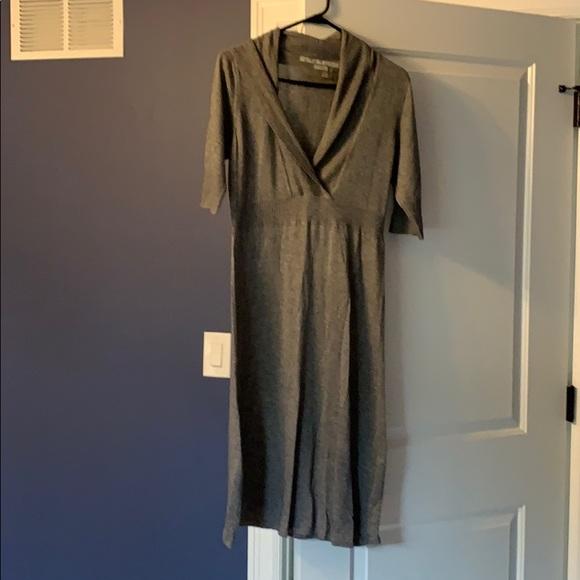 Athleta Dresses & Skirts - Athleta grey sweater dress